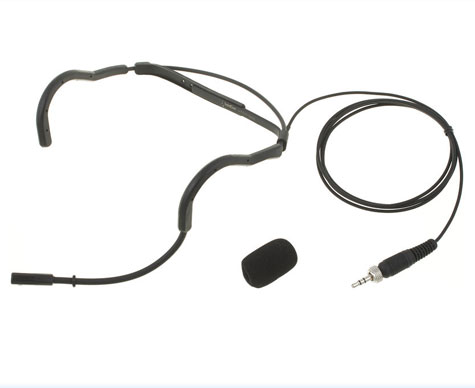 Intricon aerobic microphone headset
