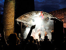 OTP's MR1 stage at Oxford Castle