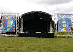 Staging & event structures by OTP, Didcot, Oxfordshire