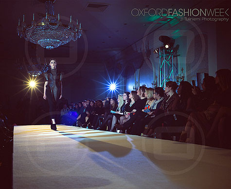 Catwalk for Oxford Fashion Week