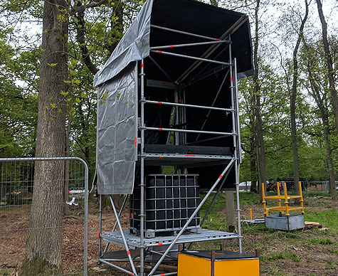 FOH 2m x 2m tower structure.