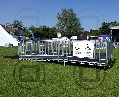Disabled viewing platforms
