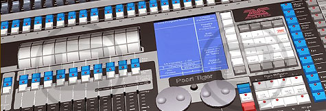 Lighting control desks available for dry hire