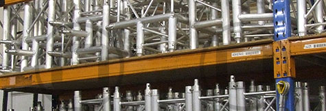Truss components available for dry hire