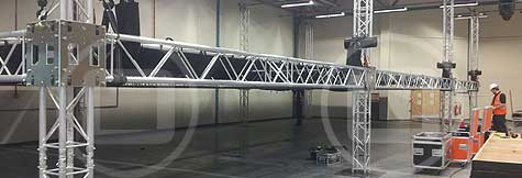 Prolyte truss components available for dry hire